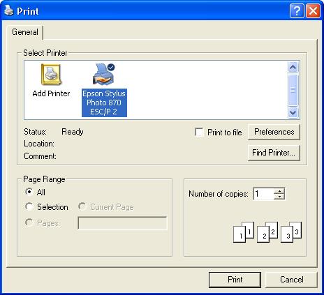 STEMgis Viewer - Printing